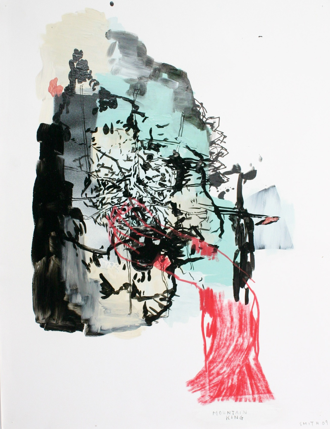 Emma Smith, Hecate, Mixed media on paper, 420 x 594 mm, 2010