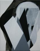 Emma Smith , Diamond back, Acrylic on canvas 280x 225mm 2014
