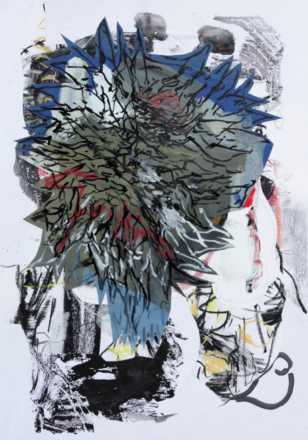 Emma Smith, The common dream, Mixed media on paper 594 x 841 mm 2010